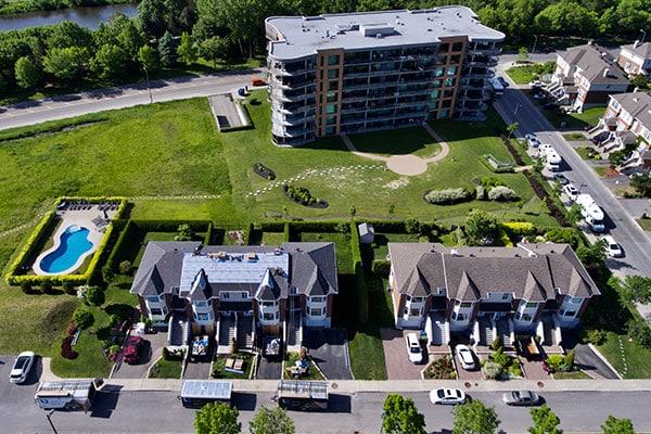 Recouvrement de toitures d'envergure à Québec