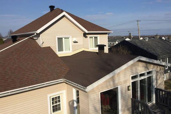 réfection toiture résdentielle