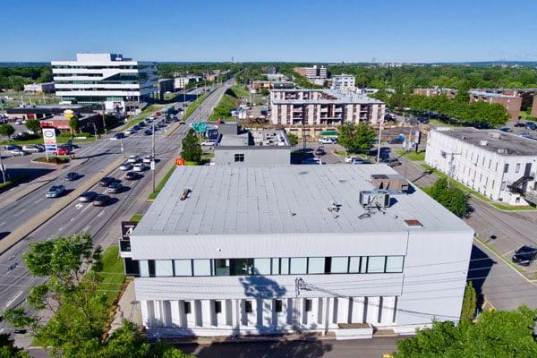 remplacement de toiture commerciale à Québec