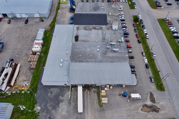mise à niveau de toiture commerciale à Québec