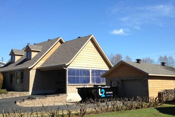 Travaux finition réfection de toit