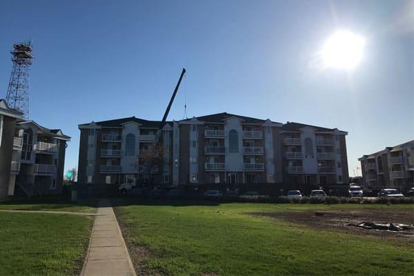 Réfection toiture d'immeubles à logement à Québec