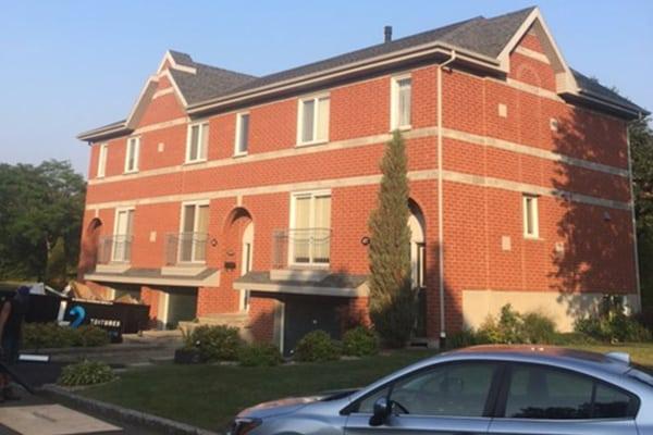réfection de la toiture d'un immeuble multifamilial